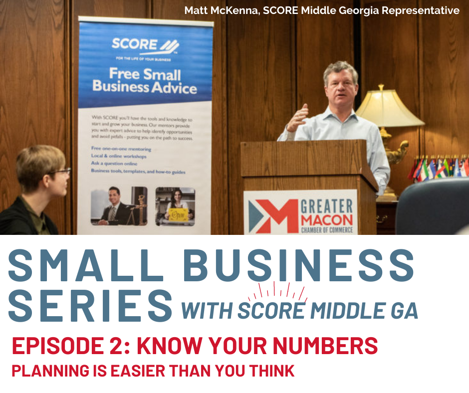 Small Business Series: Know Your Numbers